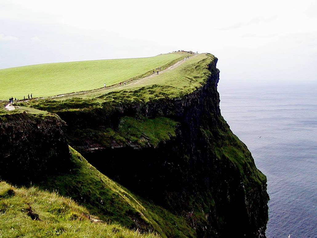 Cliff walk Moher