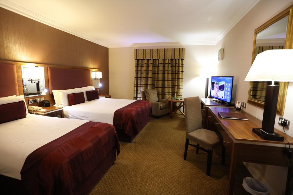 Double room at Vaughan Lodge Hotel Lahinch