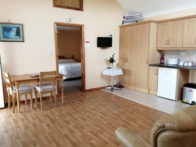 Danubio Doonbeg self catering accommodation kitchen